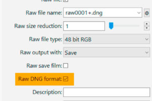 DNG file format